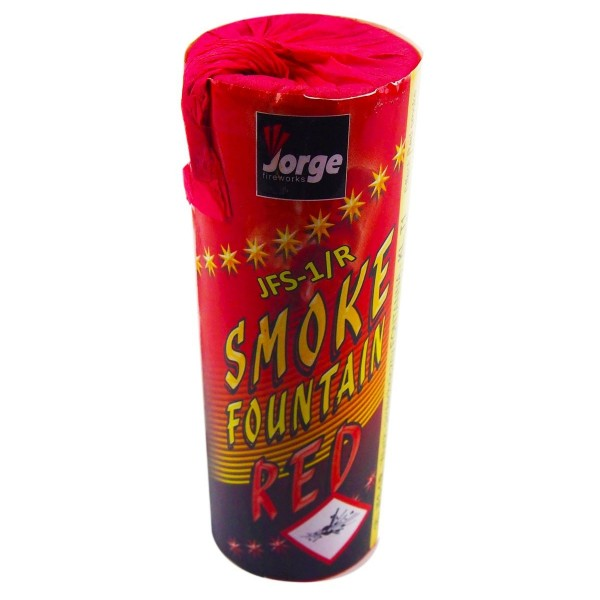 SMOKE FONTANA CZERWONA